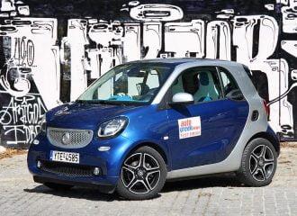 Δοκιμή smart fortwo coupe 1.0 71 PS
