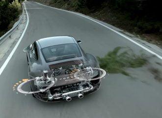 Πως στρίβουν οι πίσω τροχοί στη νέα Porsche 911 Carrera S (video)