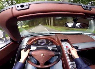 Φοβερός μεταλλικός ήχος από Porsche Carrera GT! (video)