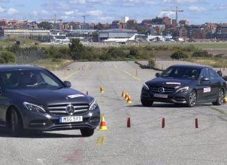 Απέτυχε η Mercedes C 350 E στο τεστ αποφυγής ταράνδου (+video)