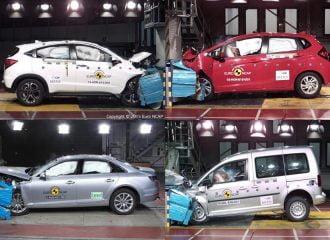 Νέα crash test σε Audi A4, Honda Jazz, ΗR-V και VW Caddy (+video)