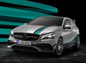 Ειδική έκδοση της Mercedes-AMG A 45 για τον θρίαμβο στην F1