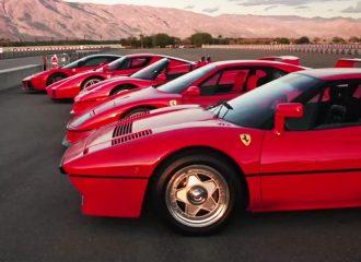 Kόντρες με Ferrari 288 GTO, F40, F50, Enzo και LaFerrari! ( video)