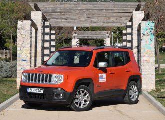 Δοκιμή Jeep Renegade ντίζελ 1.6 MultiJet 120 PS 4Χ2