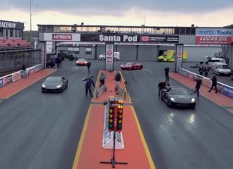 Lamborghini Huracan 610 PS VS Porsche 918 Spyder 887 PS (video)