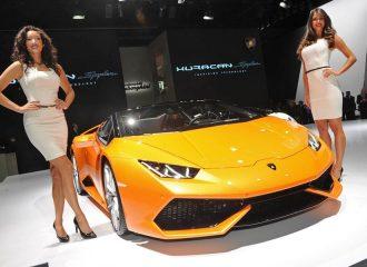 H Lamborghini πάει για ένα νέο ρεκόρ πωλήσεων το 2015
