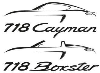 Porsche 718 Boxster και 718 Cayman με 4κύλινδρους κινητήρες