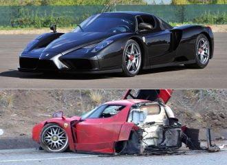 Τρακαρισμένη Ferrari Enzo θα πωληθεί 2 εκατομμύρια ευρώ!