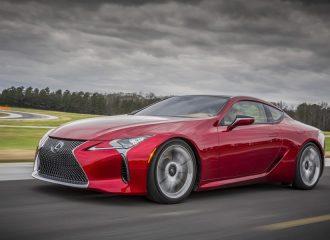Νέο Lexus LC 500 με 467 ίππους 10 ταχύτητες και πίσω κίνηση!