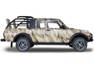 Νέα ειδική έκδοση του Lada Niva φτιαγμένη για κυνηγούς!