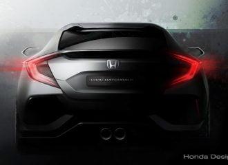 Αποκάλυψη του νέου Honda Civic Hatchback Prototype