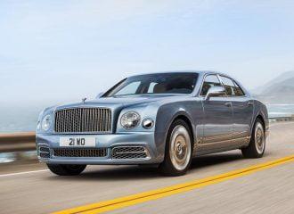 Bentley Mulsanne ανανεωμένη και ακόμα μεγαλύτερη!