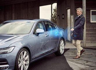 Η Volvo αντικαθιστά τα κλειδιά με το κινητό τηλέφωνο!