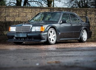Mercedes-Benz 190 E 2.5-16 Evolution ΙΙ με μόλις 2.772 χλμ.!
