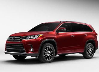 Ανανέωση για το μεγάλο 8θέσιο SUV Toyota Highlander