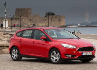 Ford Focus 1.0 EcoBoost 100PS με τιμή από 14.148 ευρώ
