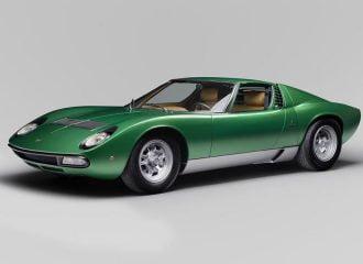 Η Lamborghini έκανε καινούργια μια Miura του 1971