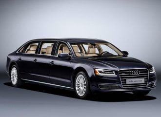 Λιμουζίνα Audi A8 L extended με 6 πόρτες και μήκος 6,36 μέτρων!