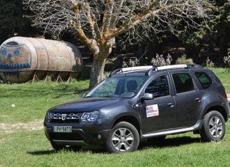 Δοκιμή Dacia Duster ντίζελ 1.5 dCi 110 PS 4×4