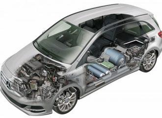 Mercedes B 200 c με φυσικό αέριο VS B 200