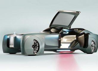 Φουτουριστική Rolls-Royce VISION NEXT 100 χωρίς... σοφέρ!