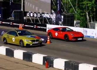 Κόντρα BMW M4 700 PS vs Ferrari f12berlinetta 740 PS