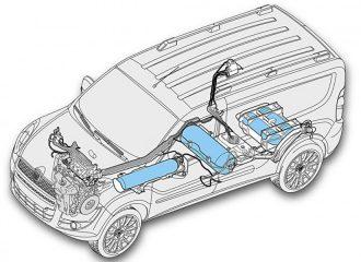 Fiat Doblo 1.4 T-Jet 120 PS Natural Power με φυσικό αέριο