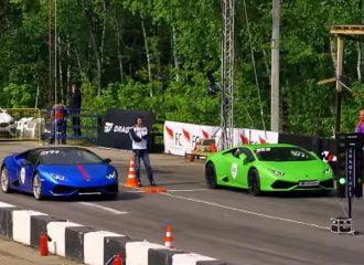 Lamborghini Huracan Turbo 900 PS vs Huracan ατμοσφαιρική 650 PS