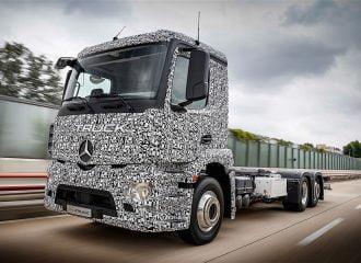 Πρεμιέρα για το ηλεκτρικό φορτηγό Mercedes Urban eTruck