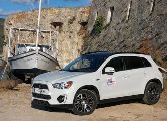 Ταξίδι στη Λευκάδα με το Mitsubishi ASX 1.6 diesel 4WD