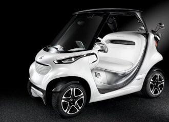 Νέο Mercedes Golf Car είναι το «αστέρι» στα γήπεδα του γκολφ