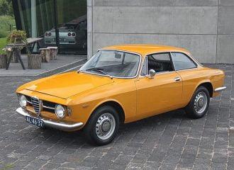 Alfa Romeo Giulia 1600 Sprint GT του 1968 με μόλις 28.096 χλμ.!