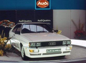 40 χρόνια από τον πρώτο 5κύλινδρο κινητήρα της Audi