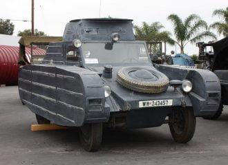 Πωλείται σπάνια Porsche άρμα μάχης του 1939!