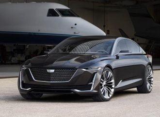 Νέα πληθωρική σεντάν Cadillac Escala ισχύος 500 ίππων