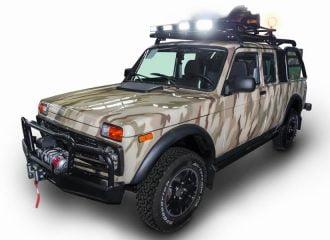 Νέα Lada Niva Urban 5d, Pick-up για κυνηγούς και… big foot!