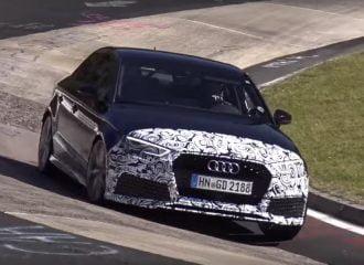 Το νέο Audi RS 3 Sedan λιώνει στο Nürburgring (+video)