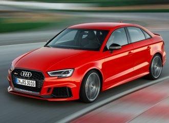 Νέο Audi RS 3 sedan με 400 ίππους! (+video)