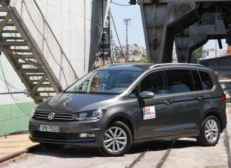 Δοκιμή Volkswagen Touran ντίζελ 1.6 TDI 110 PS BMT