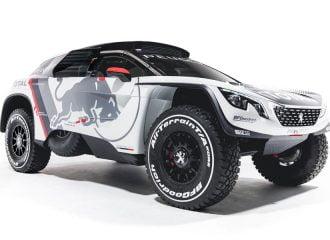 Νέο 2κίνητο ντίζελ Peugeot 3008 DKR για το ράλι Ντακάρ