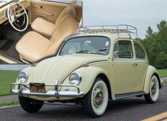 Απίστευτο VW Beetle του 1967 με μόνο 10.000 χλμ! (+video)