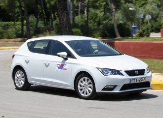 SEAT Leon 1.6 TDI 90HP με τιμή από 16.500 ευρώ