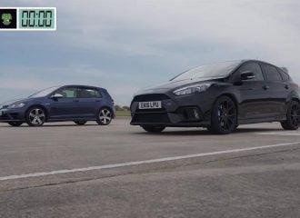 Κόντρα Ford Focus RS VS Volkswagen Golf R