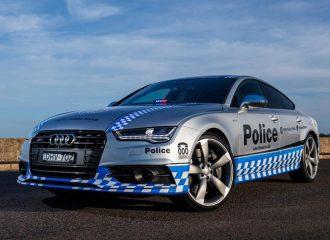 Audi S7 Sportback στις υπηρεσίες της αστυνομίας!