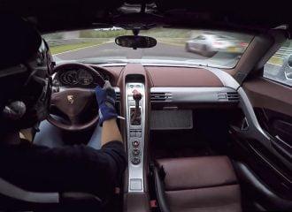 Flat out με Porsche Carrera GT στο Nürburgring