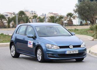 Volkswagen Golf 1.6 TDI 110PS 5D με τιμή από 21.200 ευρώ
