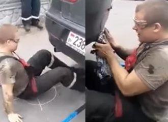Τι γίνεται αν βουλώσει η εξάτμιση ενός αυτοκινήτου; (video)
