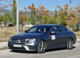 Δοκιμή Mercedes E 220 d 2.0 λτ. ντίζελ 194hp