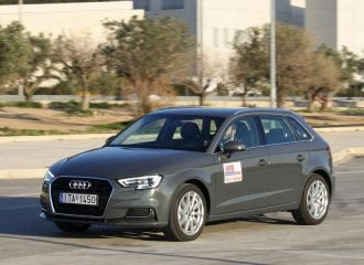 Δοκιμή Audi A3 Sportback diesel 1.6 TDI 110 PS