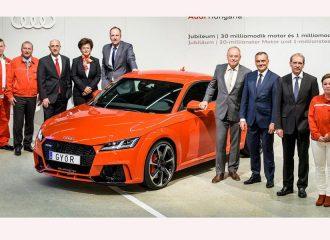 Audi Made In Hungary: 1 εκ. αυτοκίνητα και 30 εκ. μοτέρ
